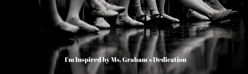I want to dedicate my first blog to one of my heroes: Martha Graham